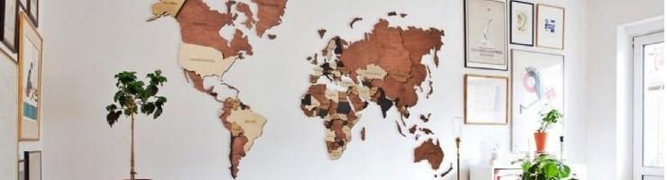 Карты из дерева