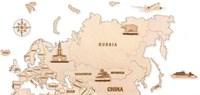 """Фигуры на карту """"Евразия"""" (6 шт.)"""